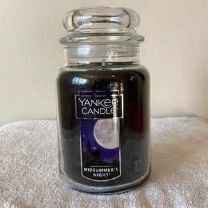 Restocked! Large Jar Yankee Candle.